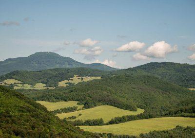 Lovecká oblasť - panoráma